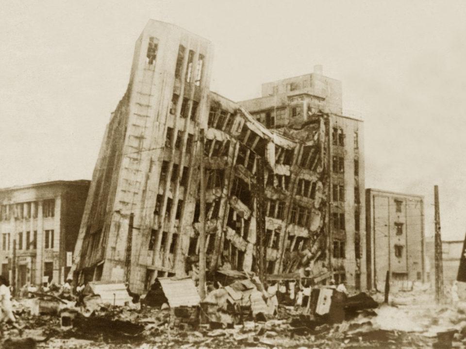Japan Earthquake damage